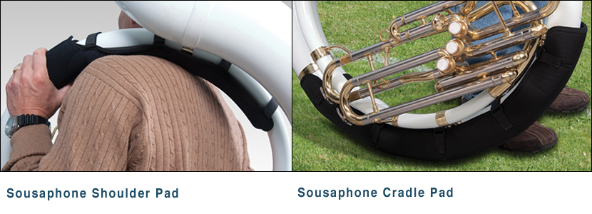 Sousaphone Shoulder Pad and Sousaphone Cradle Pad